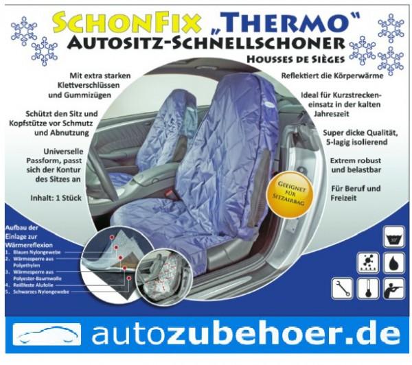 """KLEINMETALL Schonfix """"Thermo"""" Autositz-Schnellschoner"""