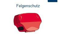 PEWAG Schneekette Felgenschutzclips
