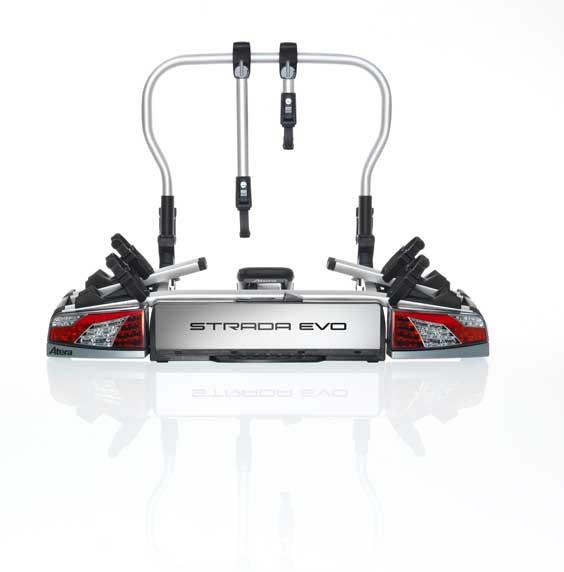 Atera Strada Evo 2 inkl. Adapterpaket für das 3.Rad (2+1) Fahrradträger