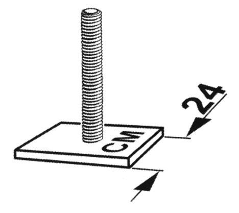 KAMEI 52004 Ergänzungsatz für Alu C-Nut Profil (24mm)