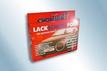 Formula 1 Lackschutzfolie - Schwarz strukturiert