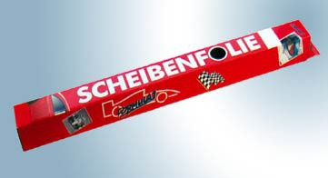 Formula 1 Scheibenfolie Jumbo-Pack